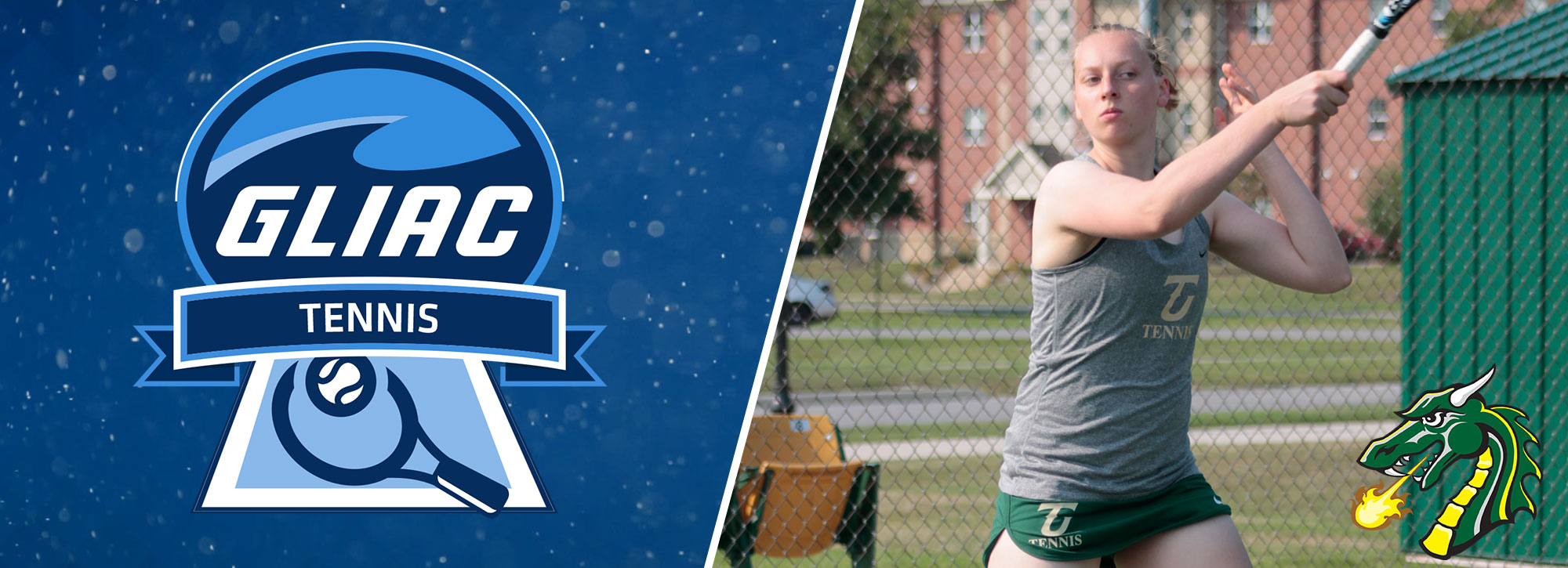 Tiffin's Geslin Captures GLIAC Women's Tennis Athlete of the Week Honors