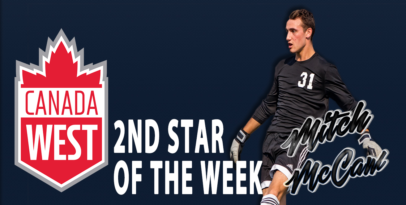Mitch McCaw selected Canada West 2nd Star of the Week