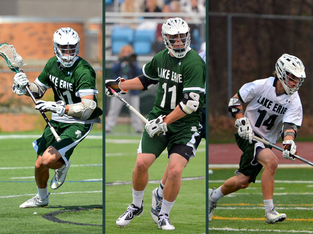 The Storm's Keegan Bal, Reagan Harding and Justin Goodwin were named to the USILA All-American Team for 2013. The trio become the first A-A's in the program's history.