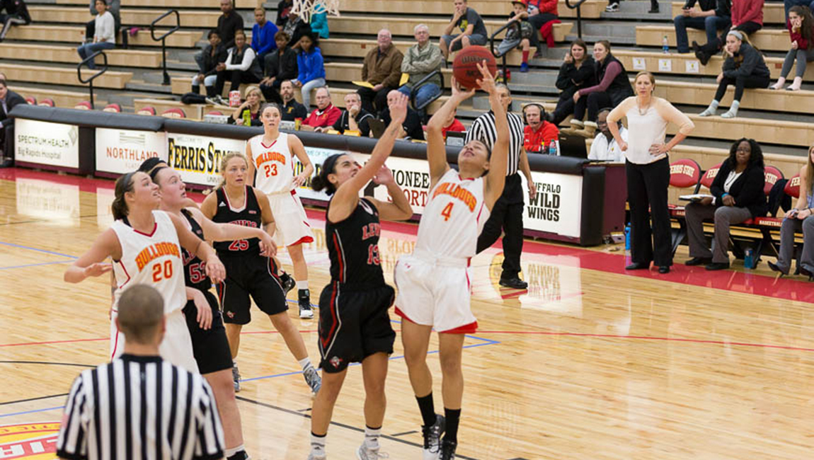 Ferris State Battles Lewis Early Before Falling To Flyers At Wink Arena