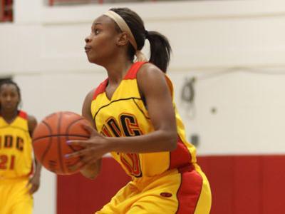 Kendra Johnson paced the Firebirds to victory over Central State by scoring 16 points