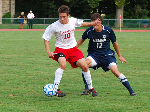 Men's soccer unable to wrangle Falcons
