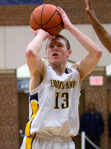 Emory & Henry Men's Basketball Holds Off Hampden-Sydney, 65-63, Saturday At Home