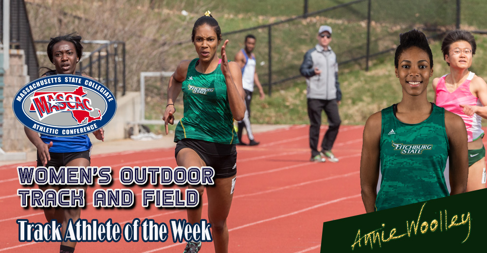 Woolley Selected MASCAC Women's Outdoor Track Athlete Of The Week