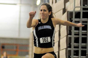 Jumpers lead the way at New England DIII championships as women place 7th of 24 teams