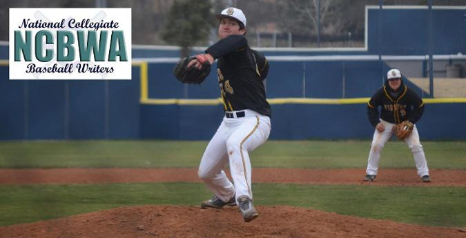 Marcom earns NCBWA Division III Pitcher of the Week