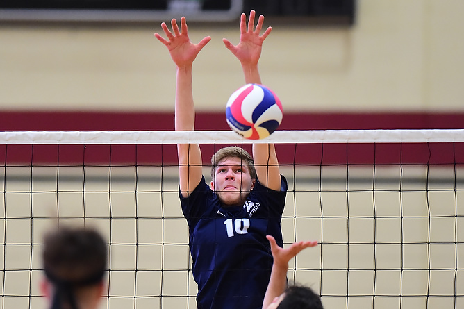 Men's Volleyball Falls Twice at Nazareth