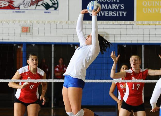 Volleyball Tops William & Mary, 3-2