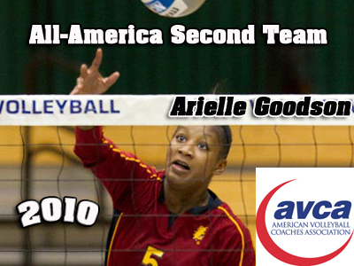Ferris State Volleyball's Arielle Goodson Earns All-America Recognition