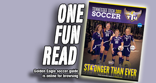 Tennessee Tech's 2011 soccer guide now available for viewing online