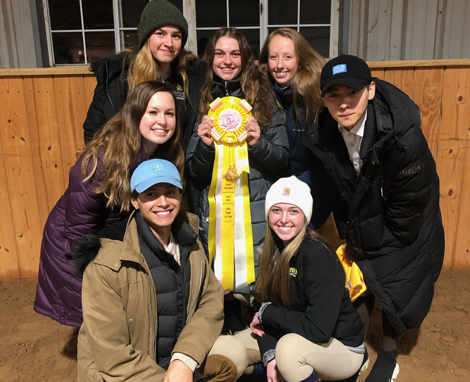 Jackson and Callihan Each Notch A Victory For Goucher Equestrian At Holiday Tournament Of Champions