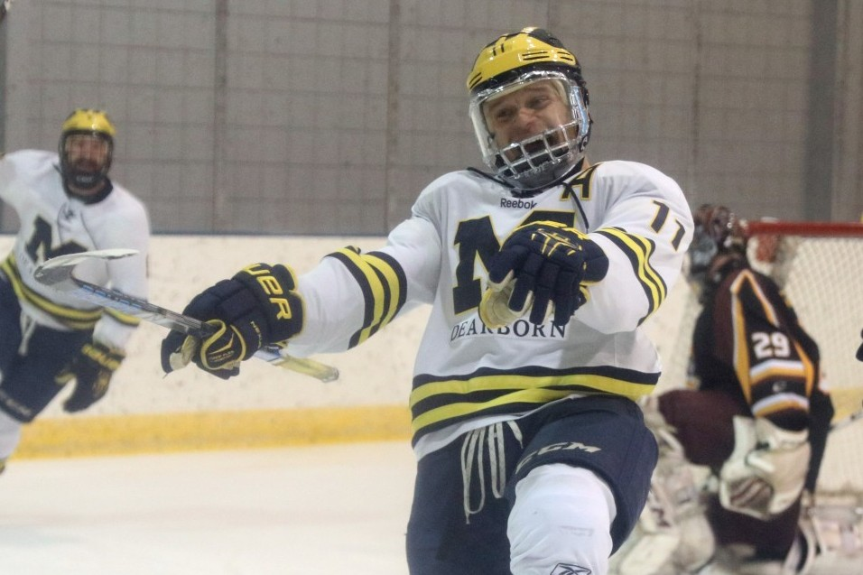 Second Period Flurry Lifts Wolverines