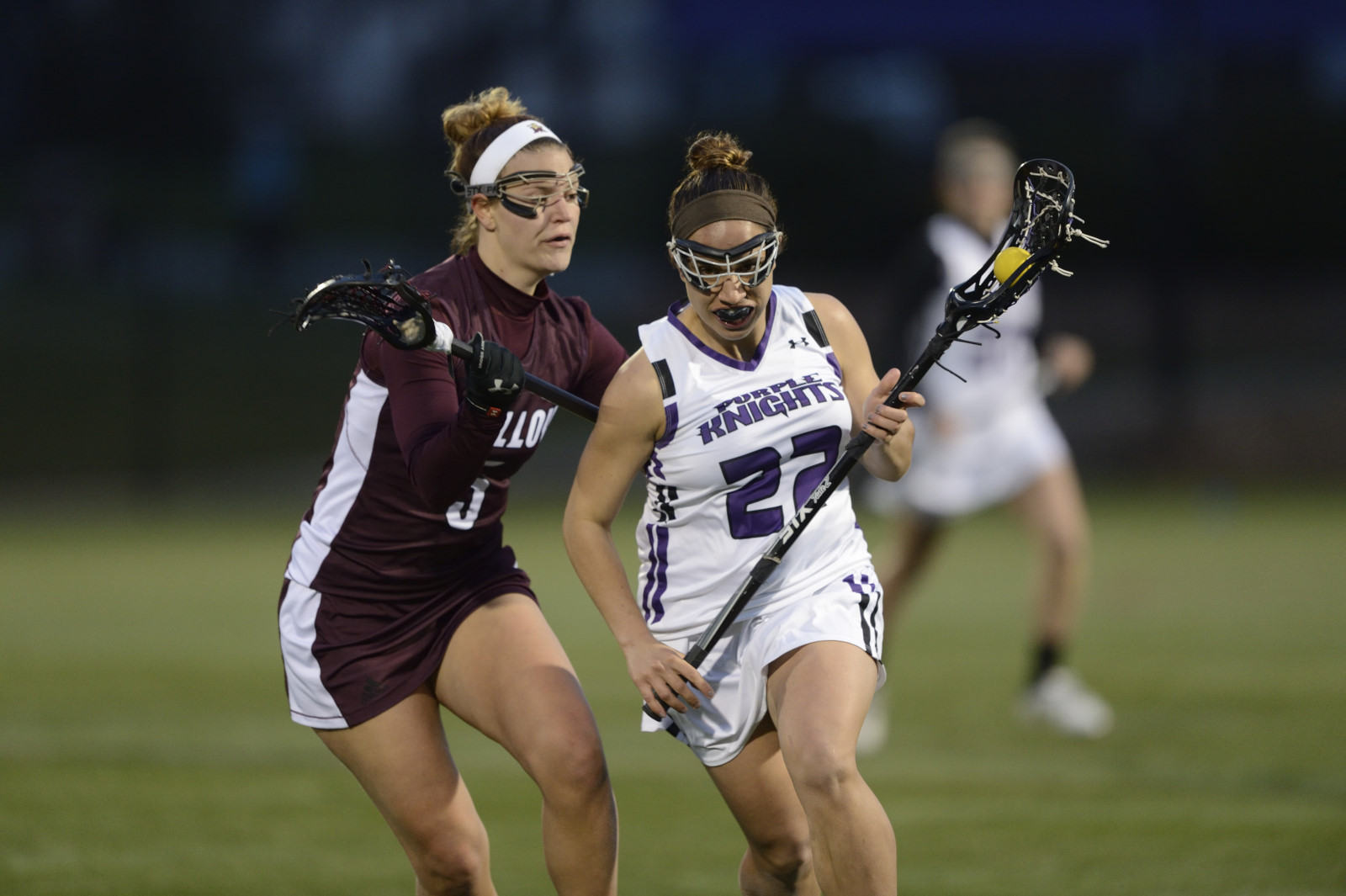 Purple Knights Close Out 2016 Women's Lacrosse Campaign With 9-3 Loss To St. Thomas Aquinas