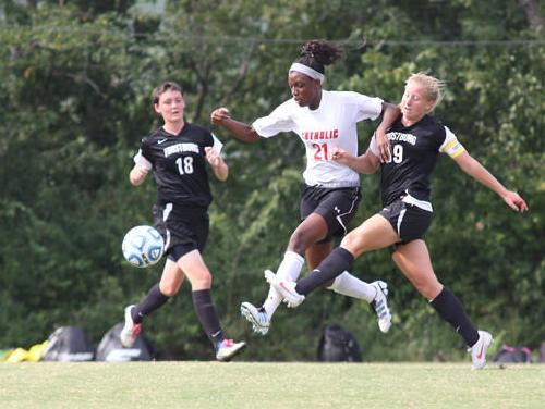 Catholic Women's Soccer Concludes Season Opener with 2-1 Win