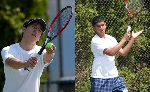 Men's Tennis Takes Third At HVMAC Championships