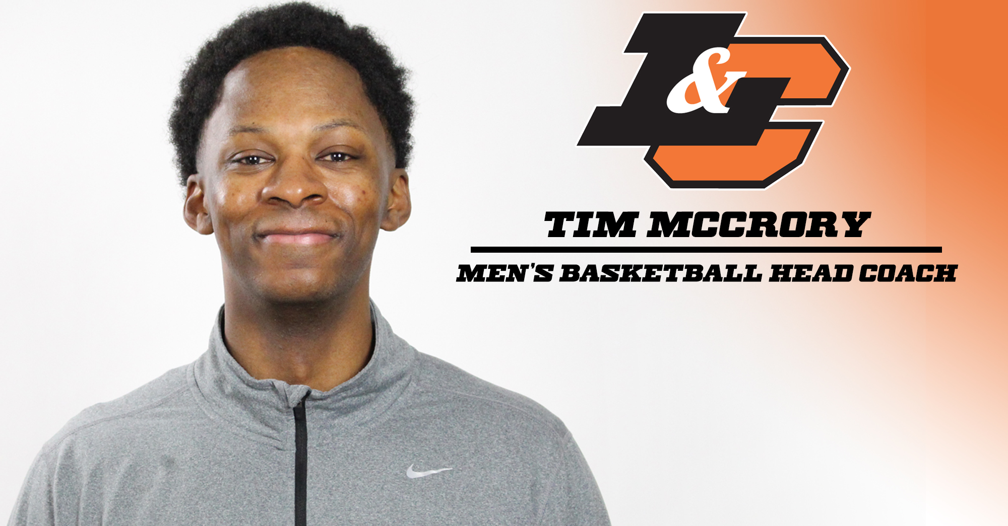 McCrory to lead men's basketball program