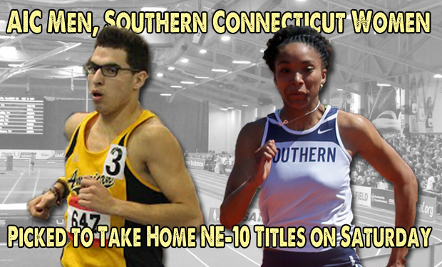 American International Men, Southern Connecticut Women Picked to Win NE-10 Indoor Track & Field Championships