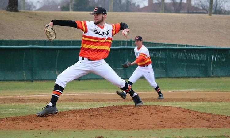Suns Baseball Routs Houston CC in Doubleheader