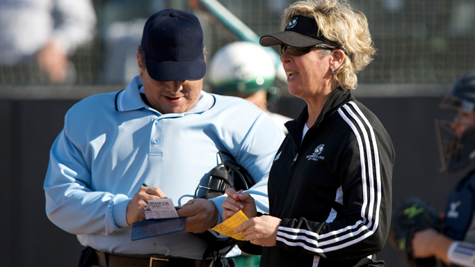 Q&A WITH RECENTLY RETIRED SOFTBALL HEAD COACH KATHY STRAHAN