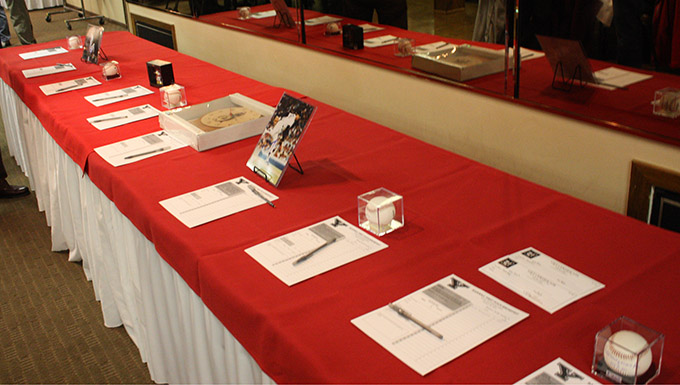The YSU Baseball First Pitch Breakfast will have an attractive list of auction items available