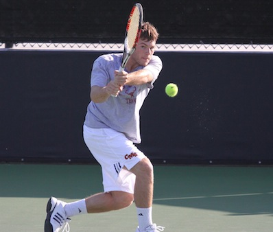 Men's Tennis Wins 9-0 at Whittier