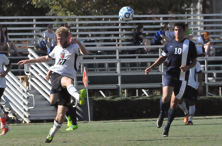Men's Soccer: Haas, Robles score as Panthers open 2014 season against Louisiana College