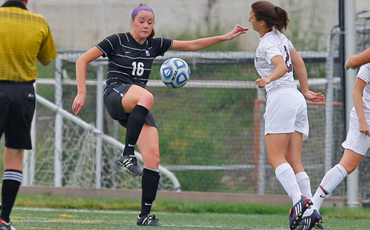 Senior defender Emily Farrell has been named the Landmark Conference Senior Scholar Athlete for women's soccer.