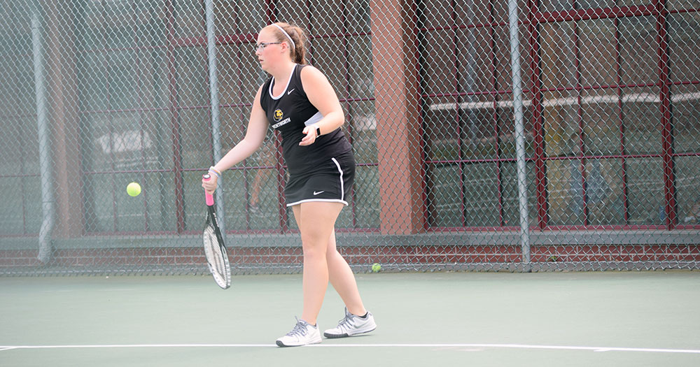 Women's Tennis Defeated by Rhode Island College