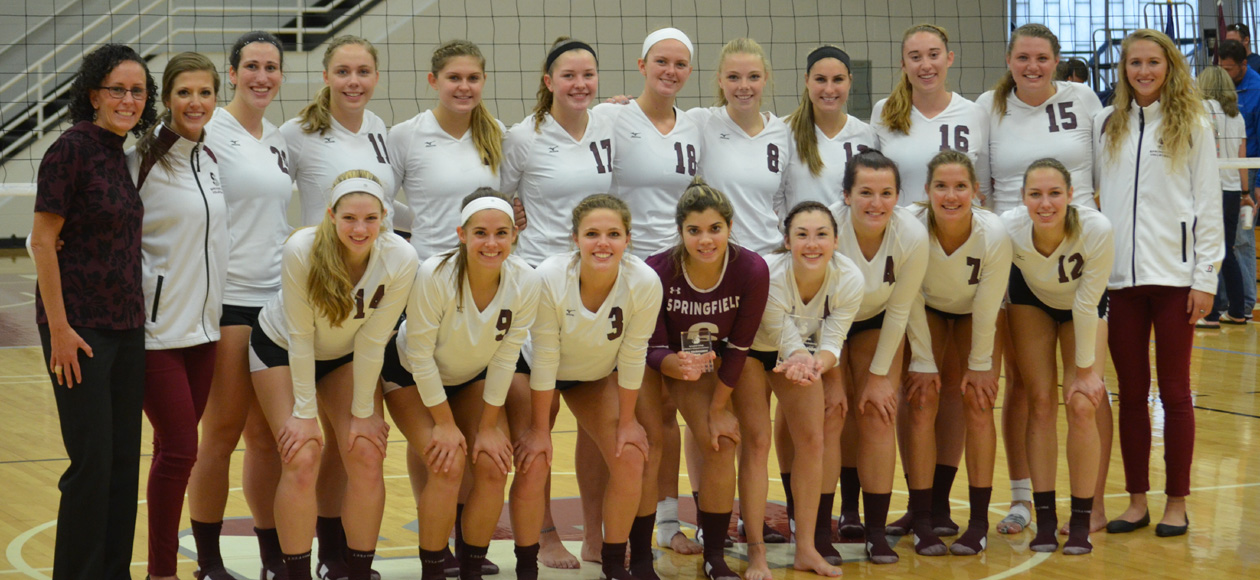 Women's Volleyball Captures Springfield College Invitational