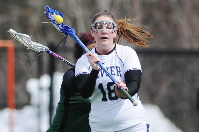 Wlax's Elena Reilly tabbed GNAC Rookie of the Week