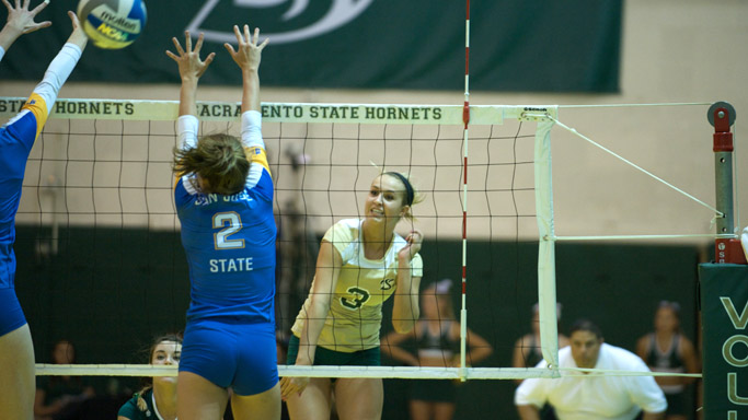 VOLLEYBALL STUMBLES AT HOME AGAINST SAN JOSE STATE