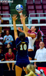 SCU Volleyball Hosts Sac State Tuesday