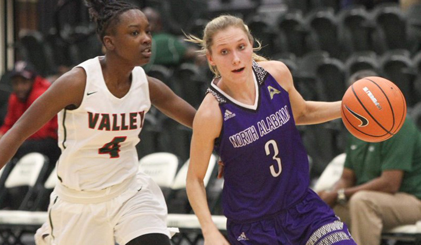Ivy Wallen Dominates vs. MVSU, Tops 1000 Points in UNA Victory