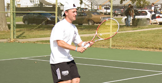 Kirstein leads men's tennis at Louisville Fall Invitational