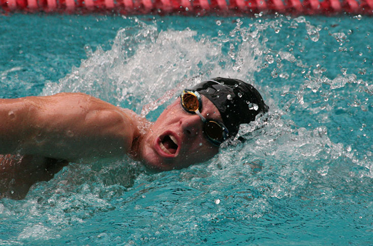 Swimming: Fuller has two first place finishes at Panther Invitational