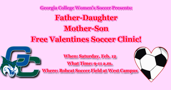 GC Women's Soccer Announces a Special Valentine's Day Clinic