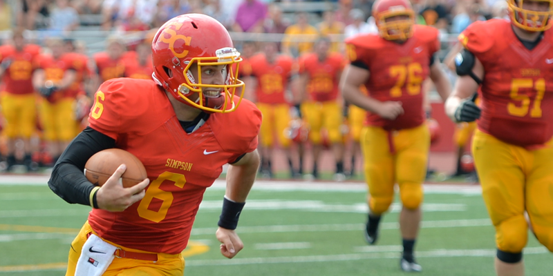 Nelson voted MVP, seven football players earn All-IIAC honors