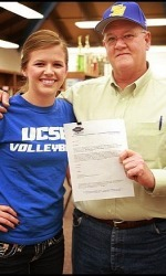 Women's Volleyball Team Signs Setter to NLI