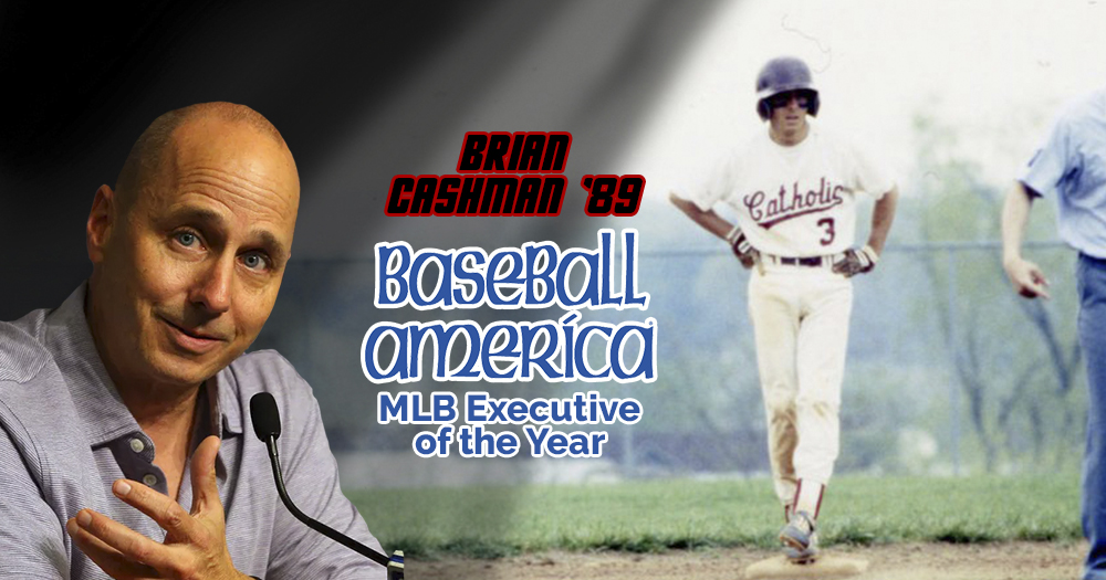 Cashman '89 Tabbed Baseball America's Executive of the Year