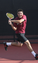 Men's Tennis Closes Fall Season at Saint Mary's