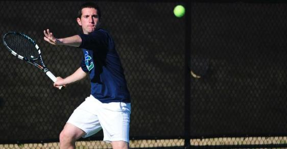 #18 Men's Tennis Downs Concord, 9-0