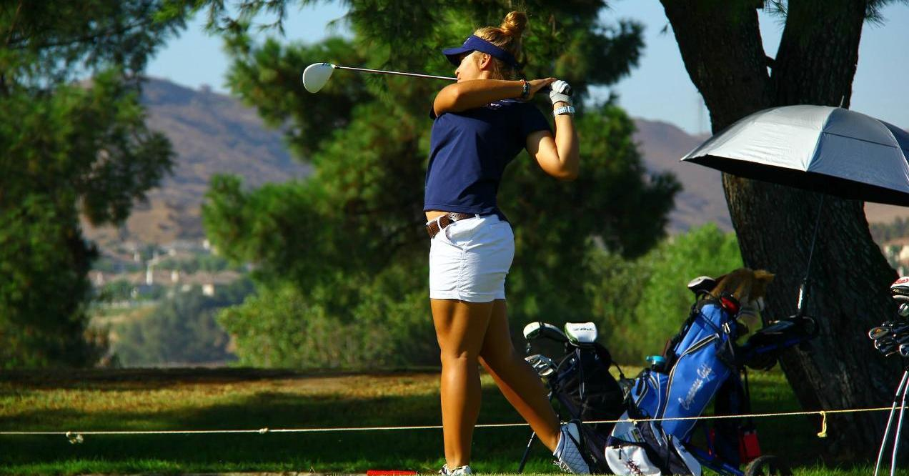 Women's golfer in second place after first round at state