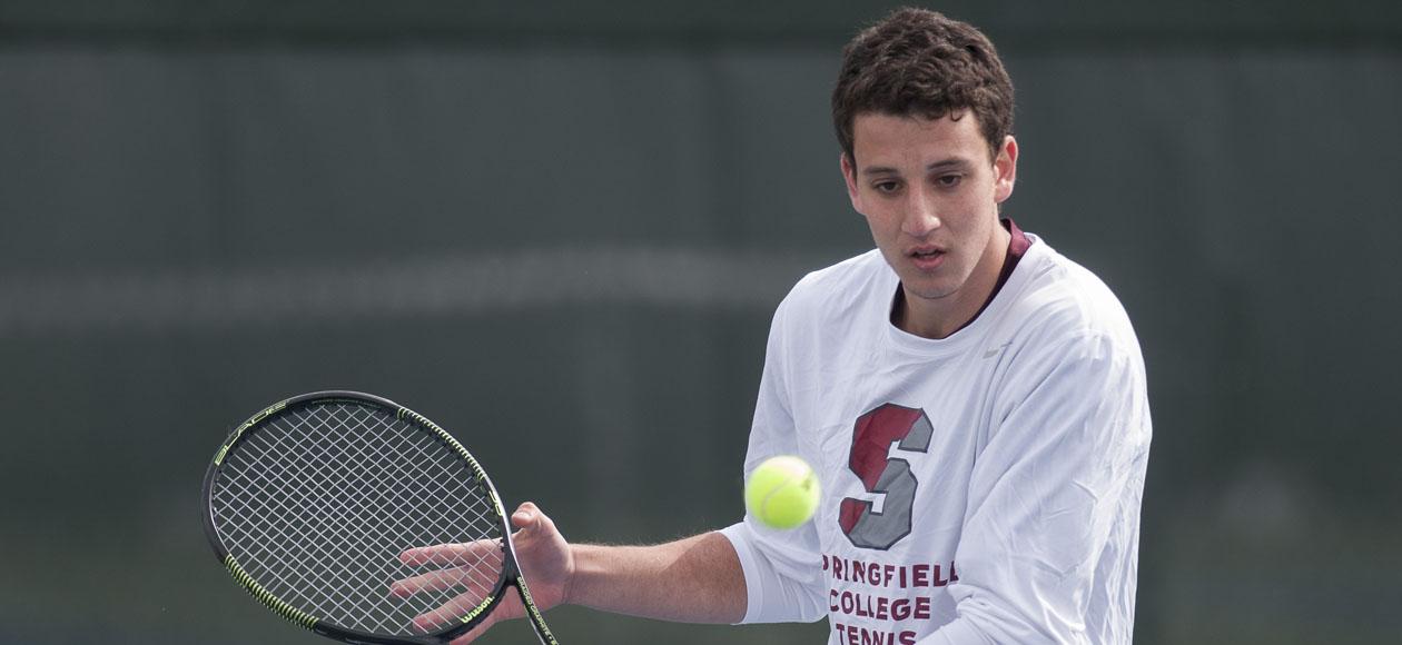 Williams Bests Men's Tennis, 8-1 - Springfield College ...