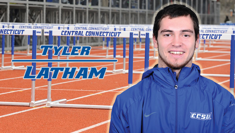 Latham Highlights Men's T&F First Day at ECAC/IC4A Championships