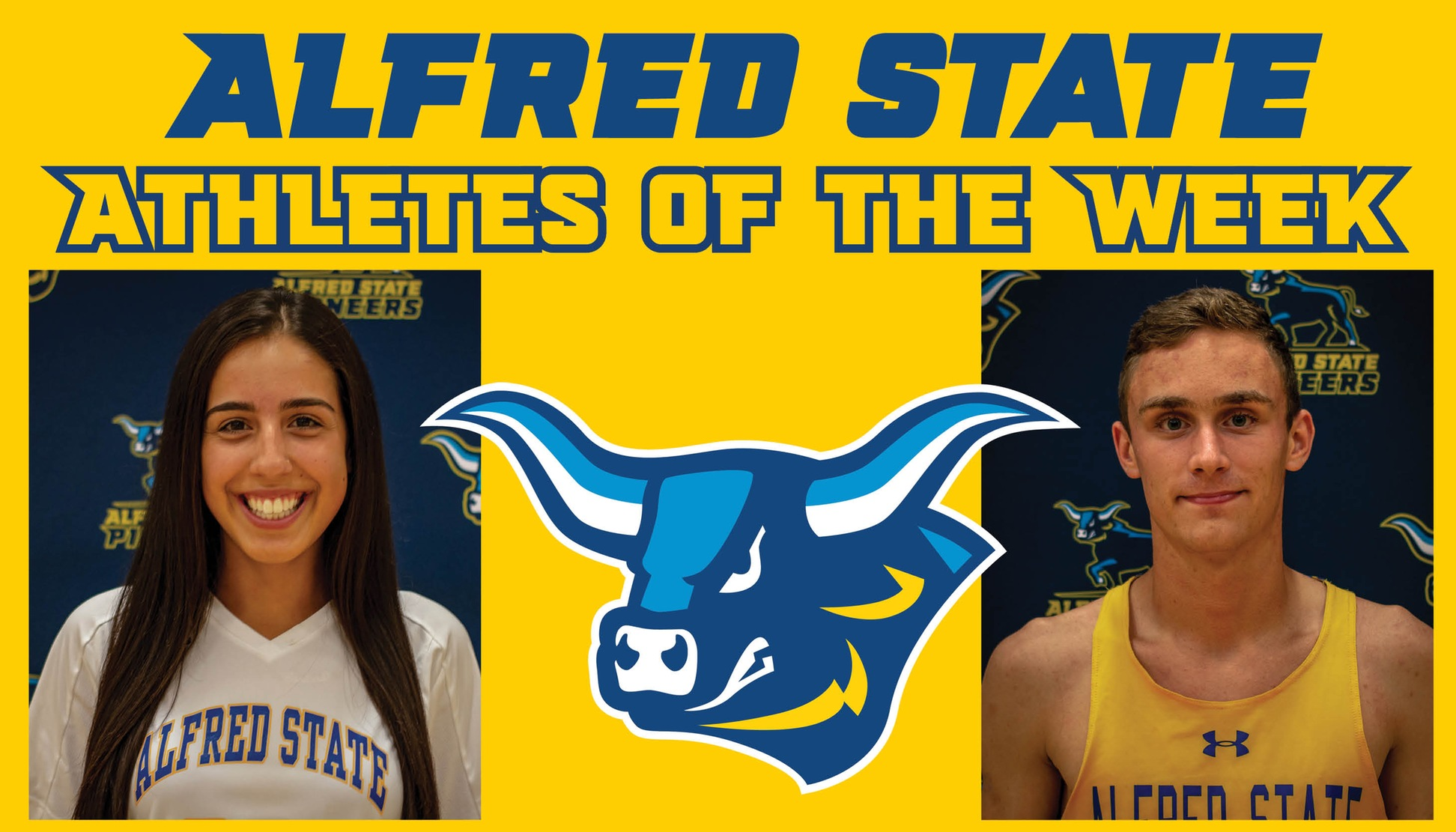 Athletes of the Week for 9/10 - Carissa Pompa & Ryan Lohr
