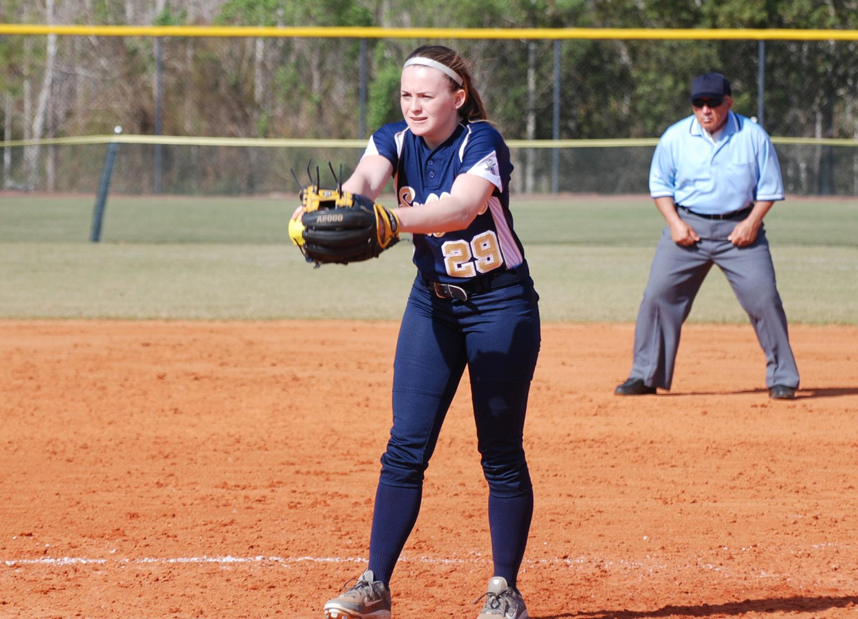 Softball Notches Victory Over USJ in GNAC Tournament Action