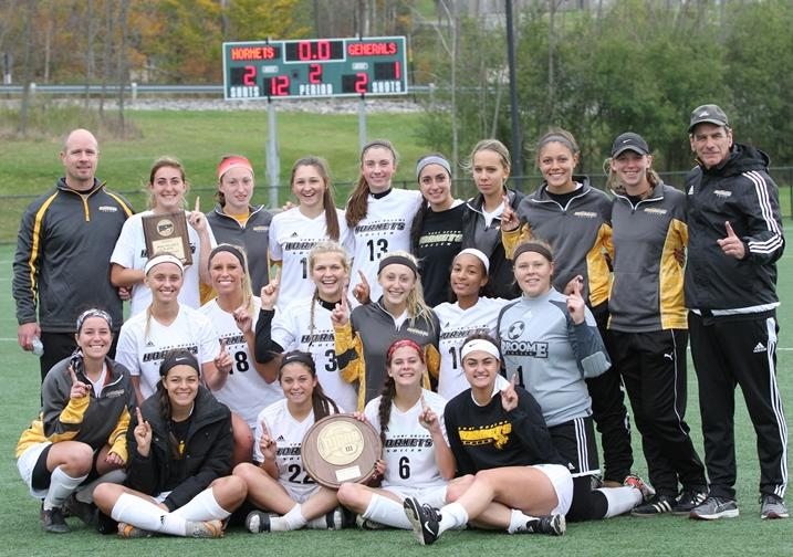 Women's Soccer Team Advances To National Tournament