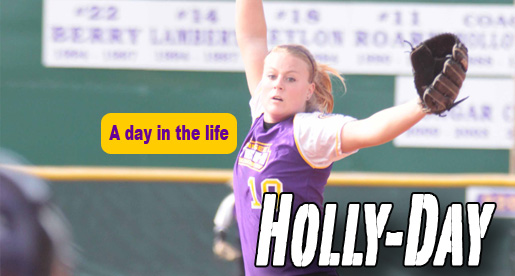 A day in the life of: Golden Eagle pitcher Holly Thomas