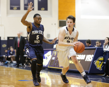 GU completes weekend NEAC sweep with 70-65 win over Wells