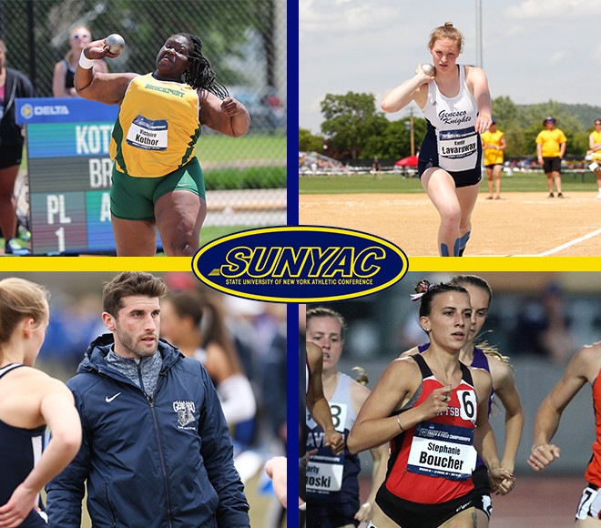 SUNYAC announces women's outdoor track and field top honors